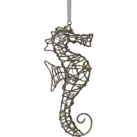 Brighten the Season Glitter Metal Seahorse