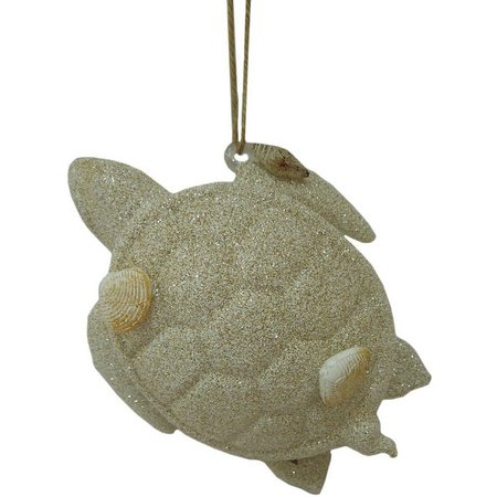 Brighten the Season Turtle With Shells Ornament