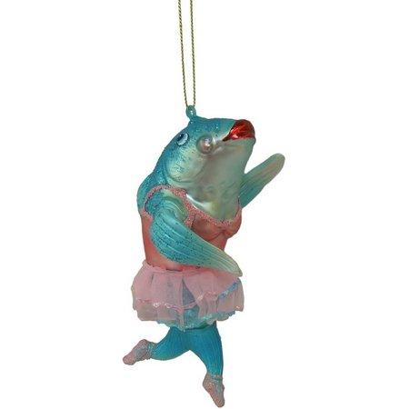Brighten the Season Dancing Dolphin Ornament