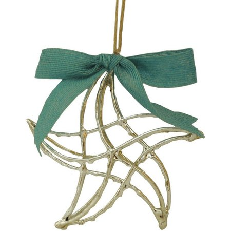 Brighten the Season Metal Starfish Ornament