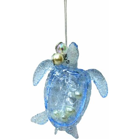 Brighten the Season Turtle with Beads Ornament