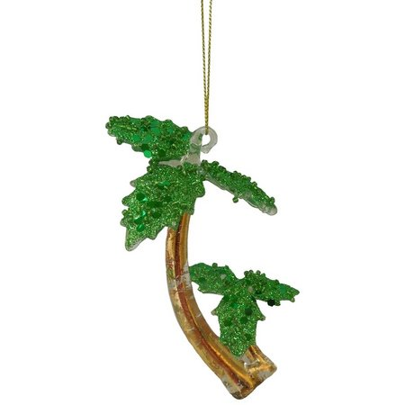 Brighten the Season Double Palm Tree Ornament