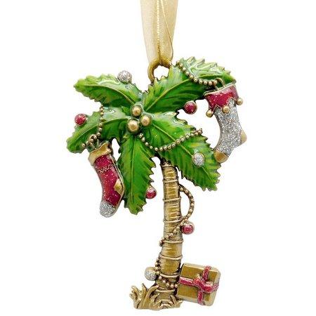Brighten the Season Christmas Palm Tree Ornament