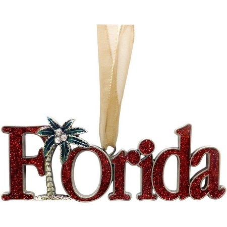 Brighten the Season Florida Palm Tree Ornament