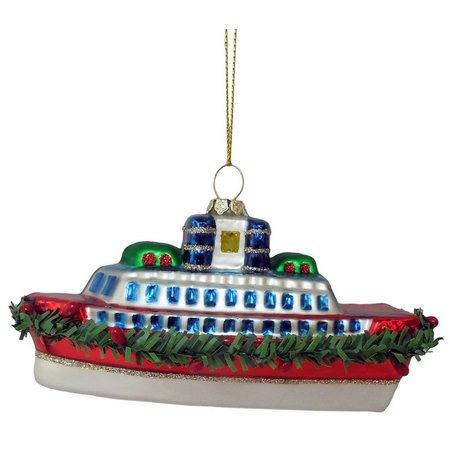 Brighten the Season Cruise Ship Ornament