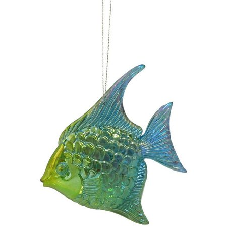 Brighten the Season Aqua Tropical Fish
