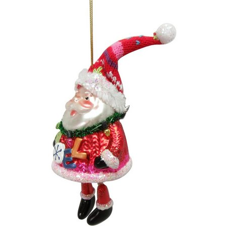 Brighten the Season Santa Noel Ornament
