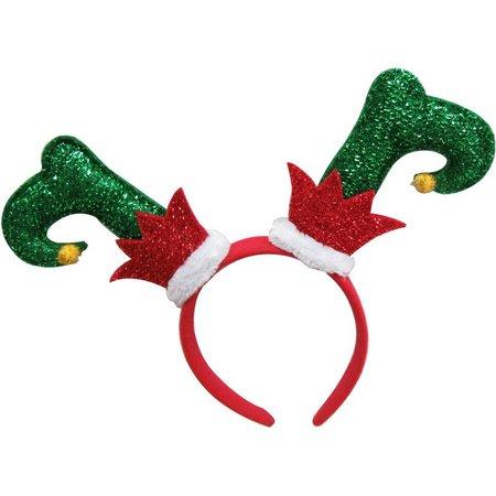 Brighten the Season Elf Shoes Headband