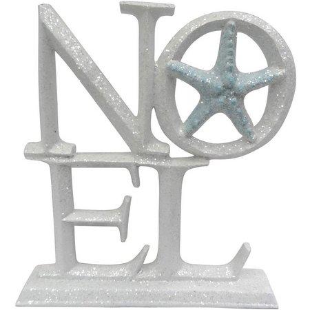 Brighten the Season Noel with Starfish Sign