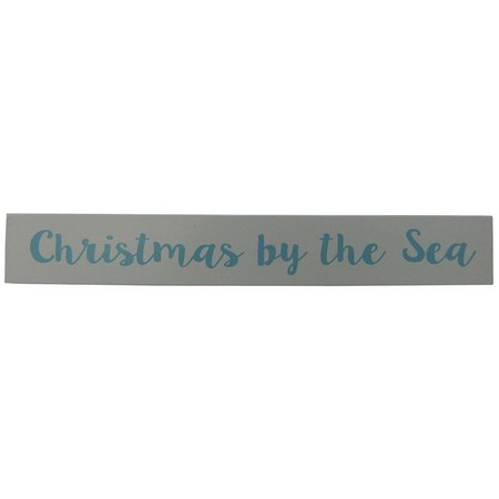 Brighten the Season Christmas By The Sea Sign