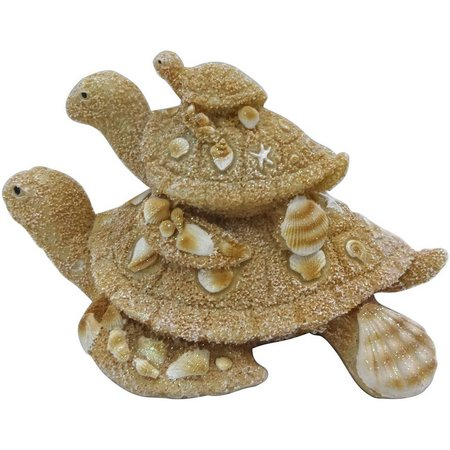 Brighten the Season Stacked Turtles Figurine