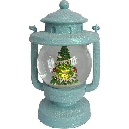 Brighten the Season Lantern Water Globe Decoration
