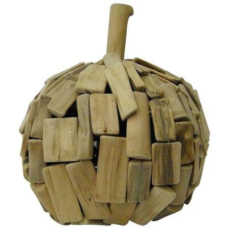 Brighten the Season 11 Driftwood Pumpkin Figurine