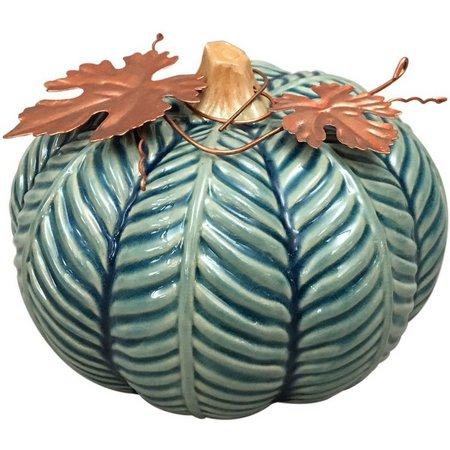Brighten the Season 5 Blue Pumpkin Figurine