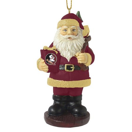 Florida State Santa Ornament by The Memory Company