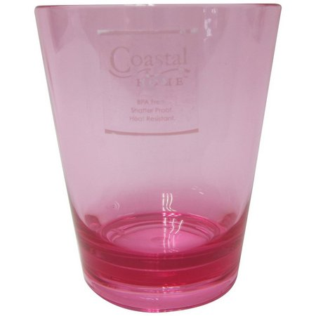 Coastal Home Acrylic Double Old Fashioned Glass