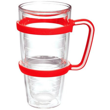 Tervis 24 oz. Red Handle