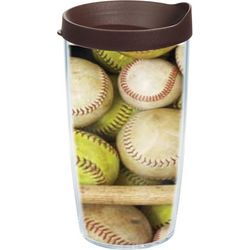 Tervis 16 oz. Baseball Wrap Tumbler With Lid