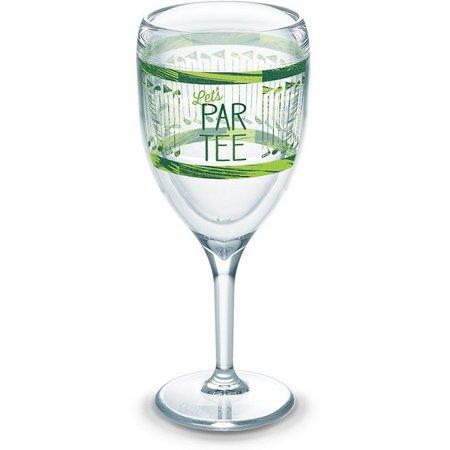 Tervis 9 oz. Let's Par-Tee Stemmed Wine Glass
