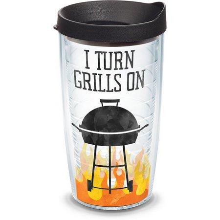 Tervis 16 oz. I Turn Grills On Tumbler