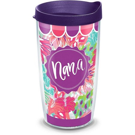 Tervis 16 oz. Floral Nana Tumbler With Lid