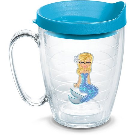 Tervis 16 oz. Blue Sequins Mermaid Mug