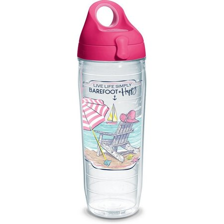 Tervis 24 oz. Barefoot & Happy Water Bottle