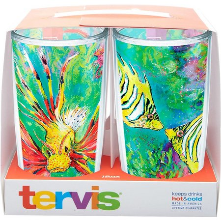 Tervis 16 oz. 4-pc. Leoma Tumbler Set
