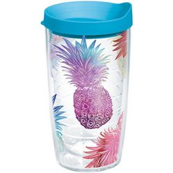 Tervis 16 oz. Watercolor Pineapple Travel Tumbler