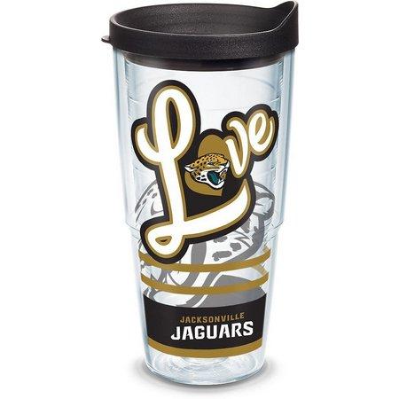 Tervis 24 oz. Jacksonville Jaguars Love Tumbler With