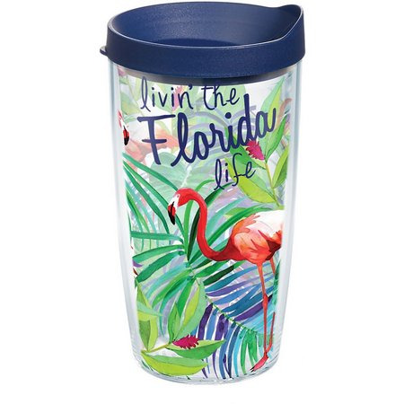 Tervis 16 oz. Livin' Florida Life Travel Tumbler