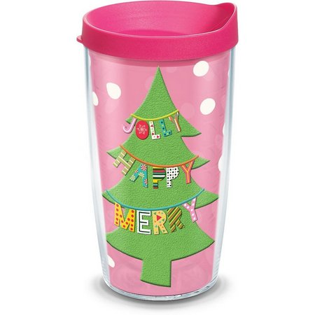Tervis 16 oz. Jolly Happy Merry Tumbler With