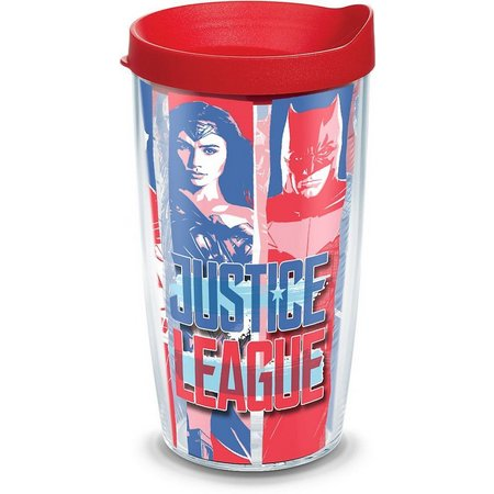 Tervis 16 oz. Justice League Tumbler with Lid