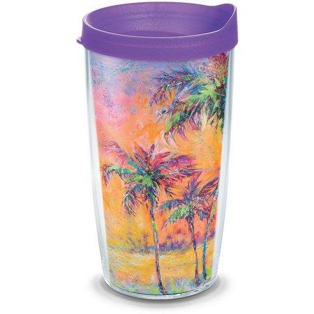 Tervis 16 oz. Leoma Paradise Palms Travel Tumbler