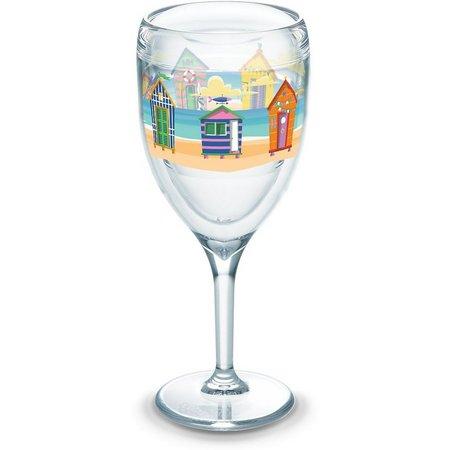 Tervis 9 oz. Bright Cabanas Stemmed Wine Glass