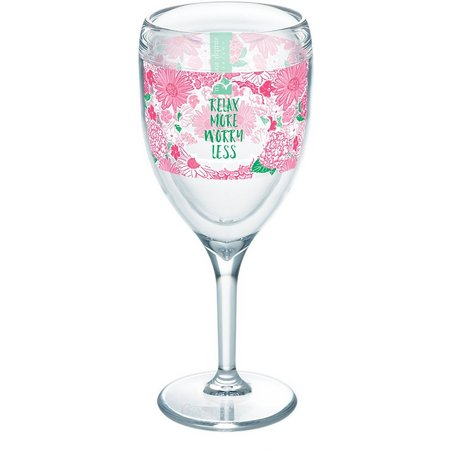 Tervis 9 oz. Simply Southern Relax Wine Glass