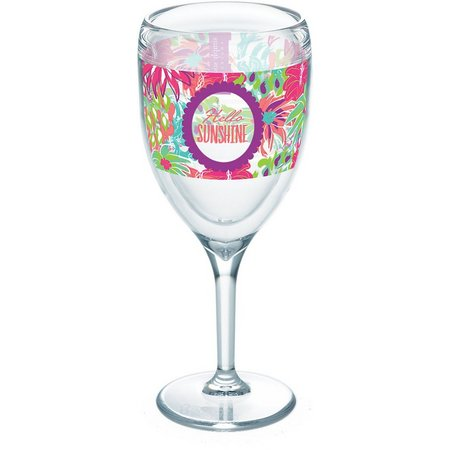 Tervis 9 oz. Simply Southern Sunshine Wine Glass