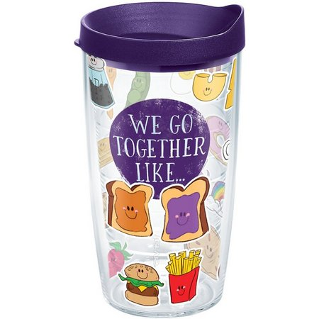 Tervis 16 oz. We Go Together Like Travel
