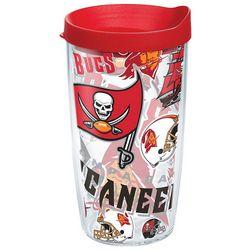 Tervis 16 oz. NFL Buccaneers Logos Travel Tumbler