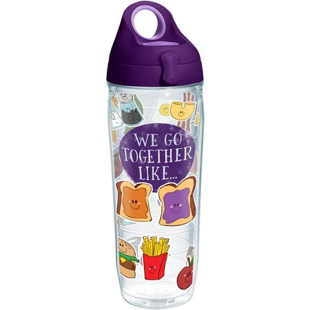 Tervis 24 oz. We Go Together LikeWater Bottle