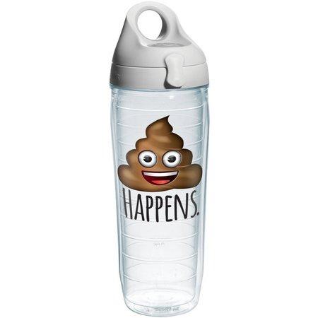Tervis 24 oz. Poop Happens Emoji Water Bottle