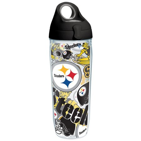 Tervis 24 oz. NFL Steelers Logo Water Bottle