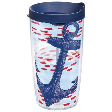 Tervis 16 oz. Anchor Wrap Tumbler With Lid