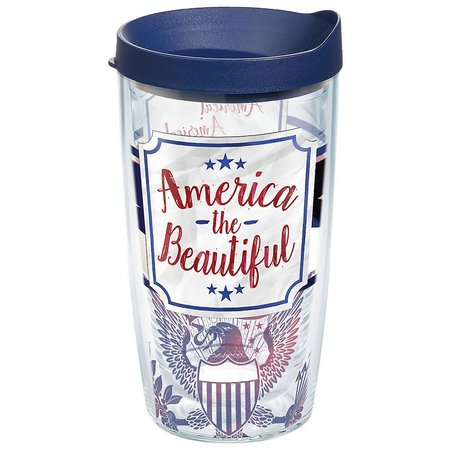Tervis 16 oz. America Wrap Tumbler With Lid