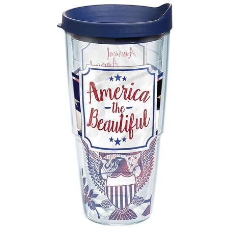 Tervis 24 oz. America Wrap Tumbler With Lid