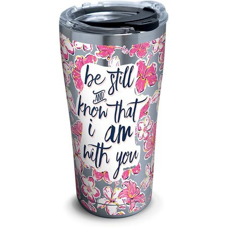 Tervis 20 oz. Stainless Steel Be Still Floral