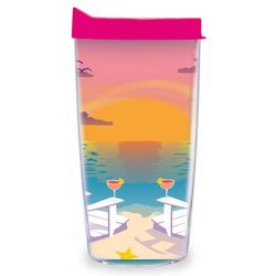 Tervis 16 oz. Sunset Breeze Tumbler With Lid