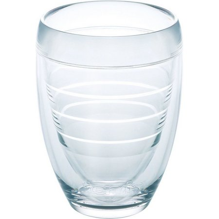 Tervis 9 oz. Clear Stemless Wine Glass