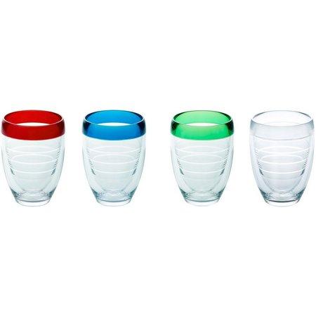 Tervis 9 oz. 4-pc. Stemless Wine Glass Set