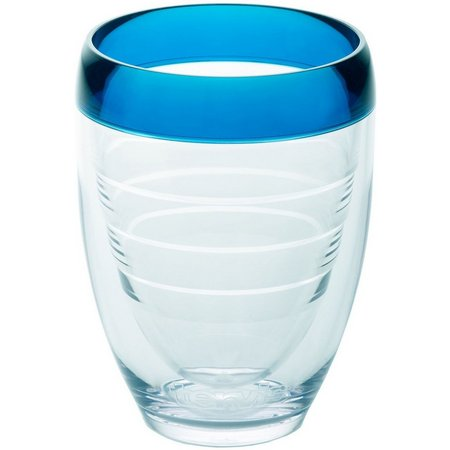 Tervis 9 oz. Blue Infusion Stemless Wine Glass